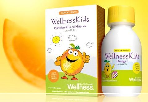 wellness kids, орифлэйм, дети