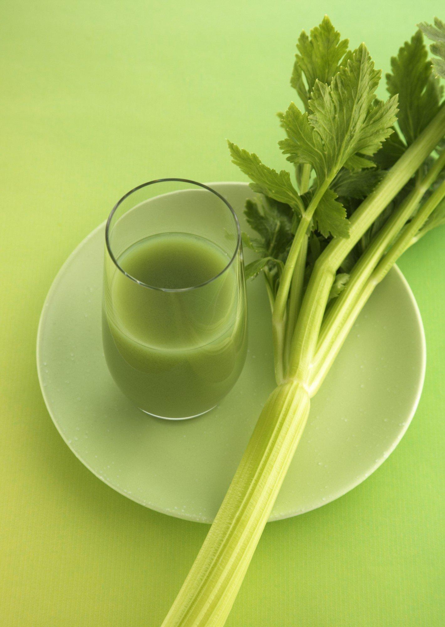 сельдерей, диета, сок